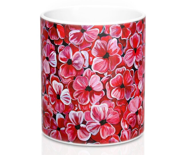 Poppies | Durable Cermanic Coffee Mug 11oz