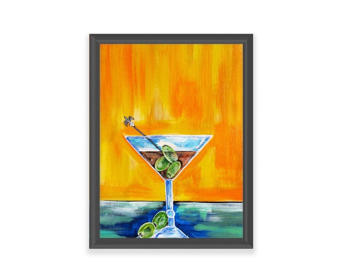 Martini | Premium Matte Vertical Print | Various Sizes