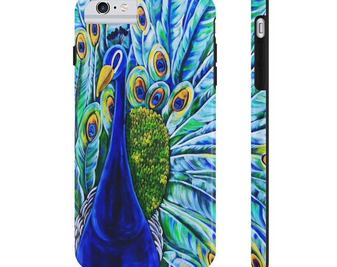 Royal Peacock | Case Mate Tough Phone Cases | Available for Various Phone Models