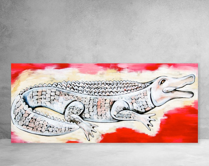 Calling Gator Rouge | Canvas Gallery Wraps | Various Sizes