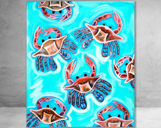 Crabs At Play | Canvas Gallery Wraps | Various Sizes