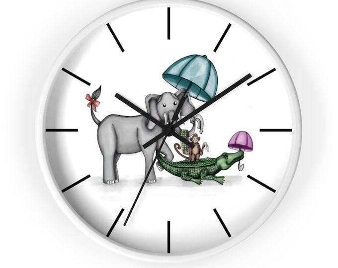 Safari Second Line | Wall Clock | Various Colors