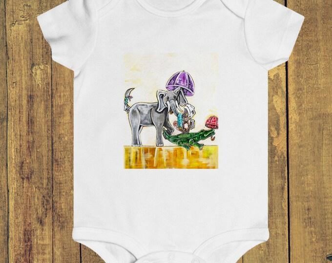 Safari Second Line | Infant Rip Snap Tee
