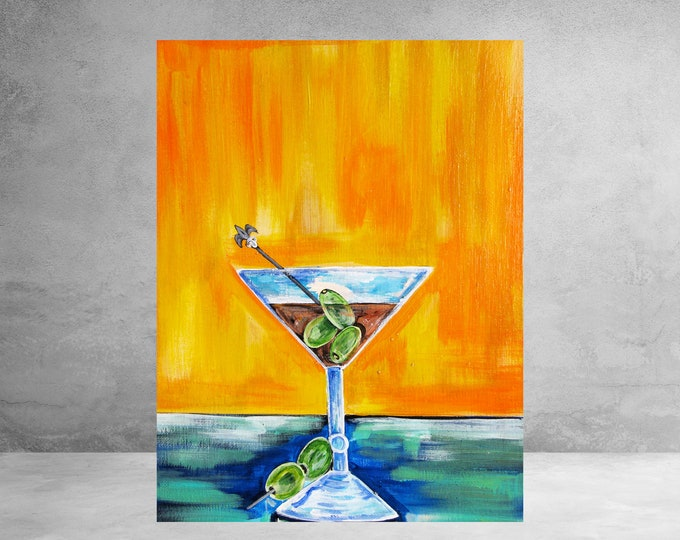 Martini | Canvas Gallery Wraps | Various Sizes