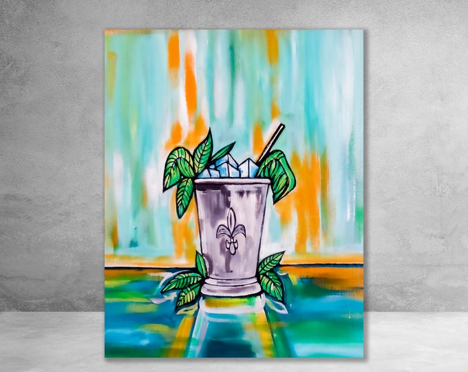 Mint Julep | Canvas Gallery Wraps | Various Sizes