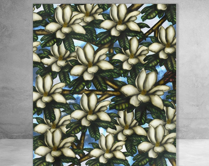 Magnolia In The Sky | Canvas Gallery Wraps | Various Sizes