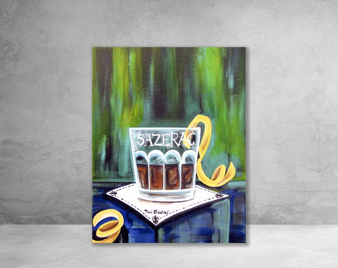 Sazerac | Canvas Gallery Wraps | Various Sizes