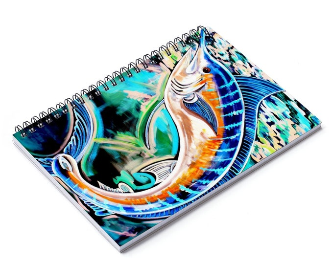 Blue Marlin | Spiral Notebook - Ruled Line