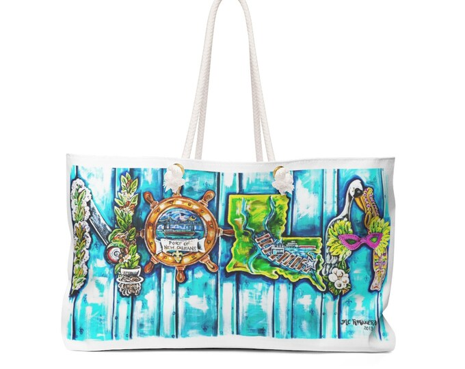 Port of Nola | Weekender Bag | Perfect those New Orleans Getaways!!