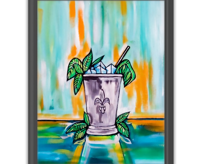 Mint Julep | Premium Matte Vertical Print | Various Sizes