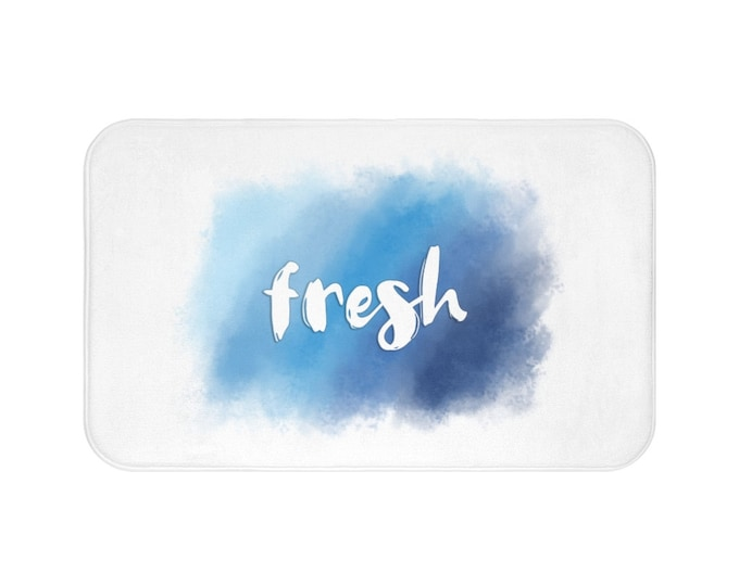 Fresh | Bath Mat | Bathroom Home Decor