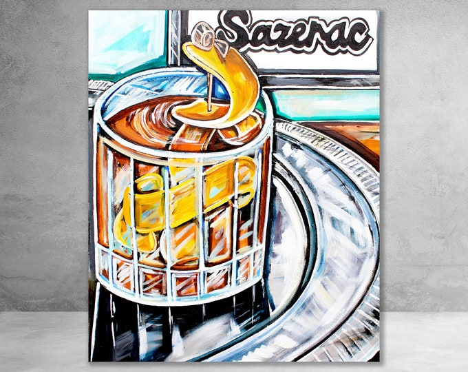 Sazerac Bar | Canvas Gallery Wraps | Various Sizes