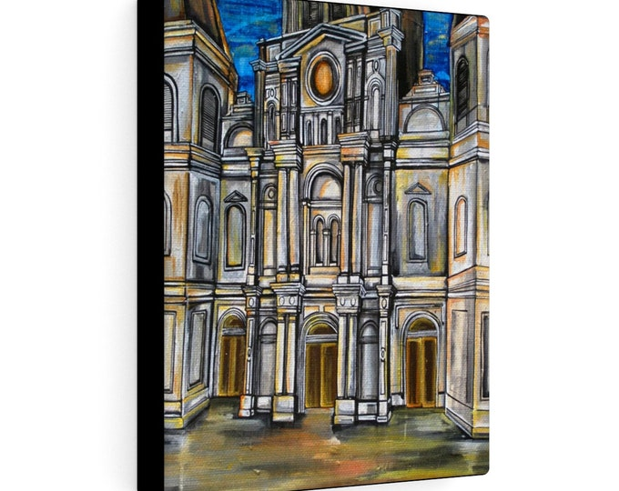St. Louis Cathedral | Various Sizes | Architectural Art |  Home Decor | Canvas Gallery Wrap | Wall Art | Reproduction