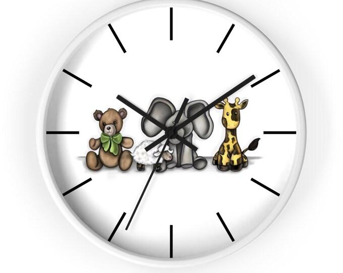 Teddy Bear | Wall Clock | Various Colors