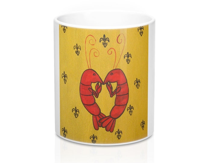 Crawfish Heart | Mug 11oz
