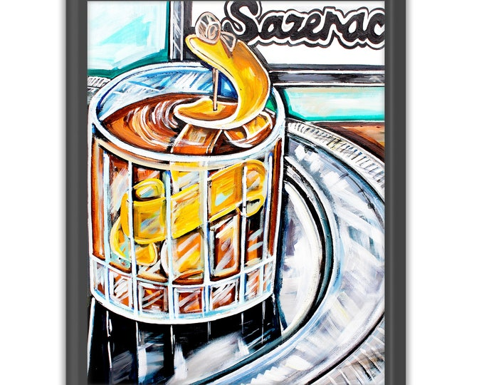 Sazerac Bar | Premium Matte Vertical Print | Various Sizes