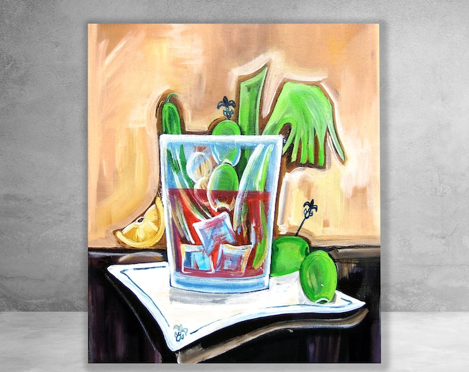 Bloody Mary | Canvas Gallery Wraps | Various Sizes