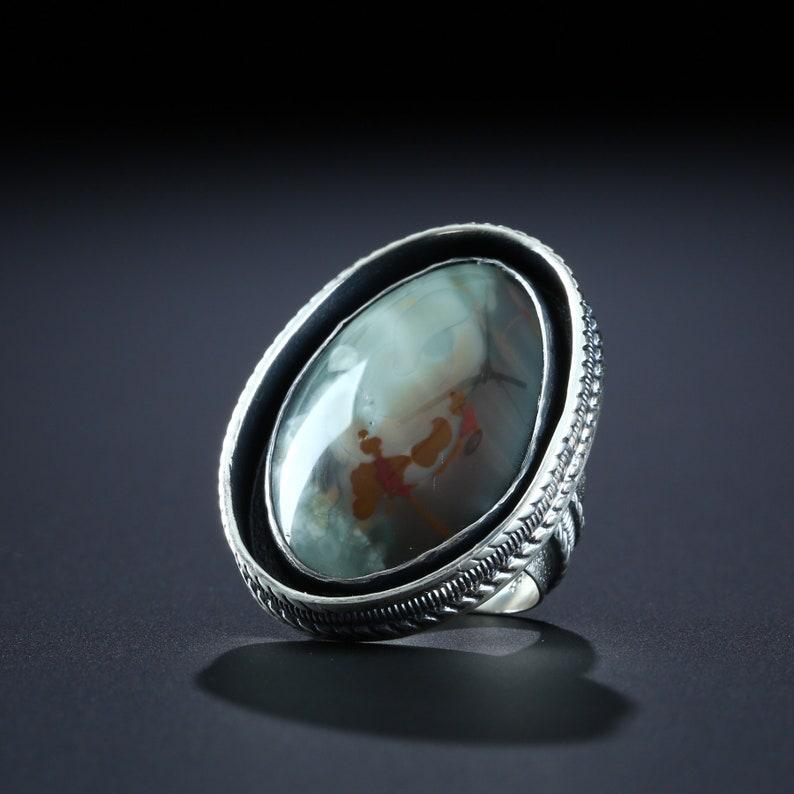 Morrison Ranch Jasper Ring, size 9