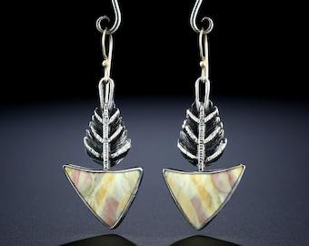 Willow Creek Jasper Earrings