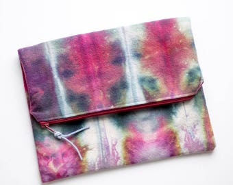 Clutch Purse, Evening Handbag, Foldover Purse, Clutch Pouch