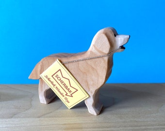 Golden Retriever dog, WALDORF wooden TOY figure. Made with love!