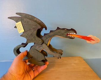 RESERVED for Antonia Dragon hand made Waldorf wooden TOY figure. Made with love!