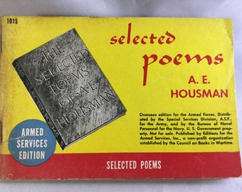 Military Poem Books Etsy