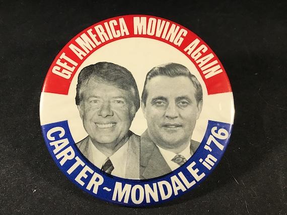 SCARCE PENNSYLVANIA CARTER-MONDALE JUGATE 1976 CAMPAIGN