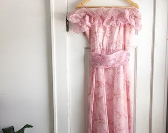 Floral wedding dress | Etsy