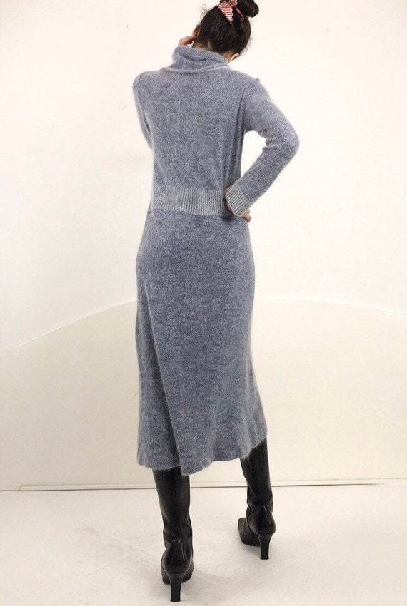 Italian Angora Sweater Dress