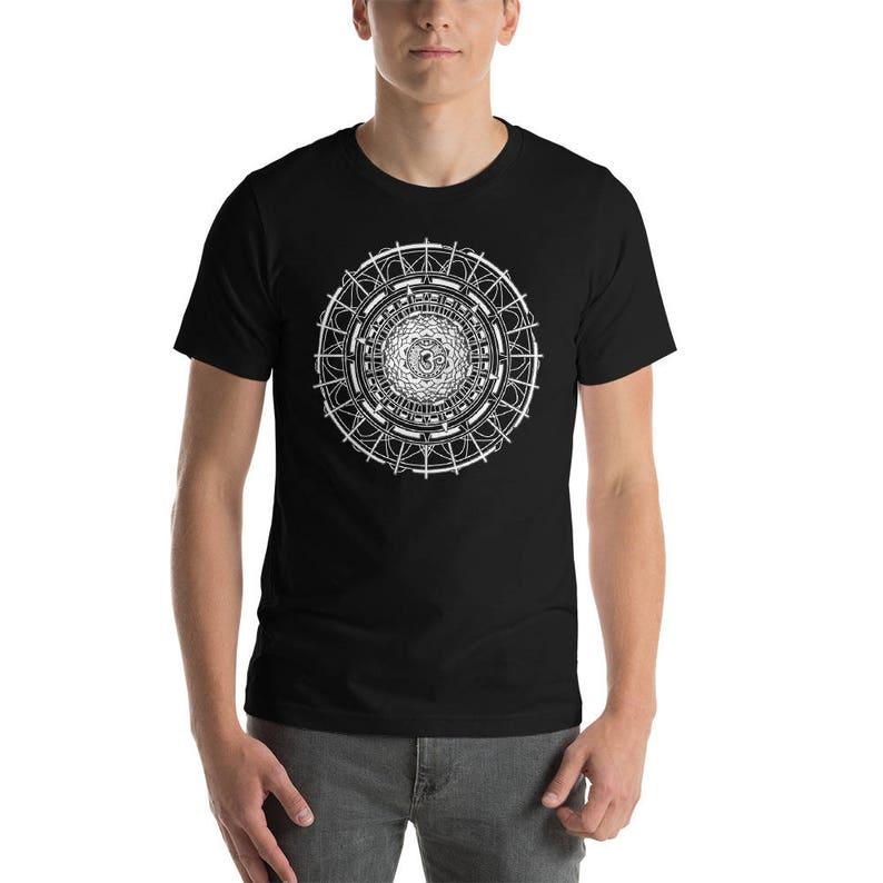 b2d32b3dd884 Om Shirt Sacred Geometry Shirts Mandala Shirt Aum Shirt
