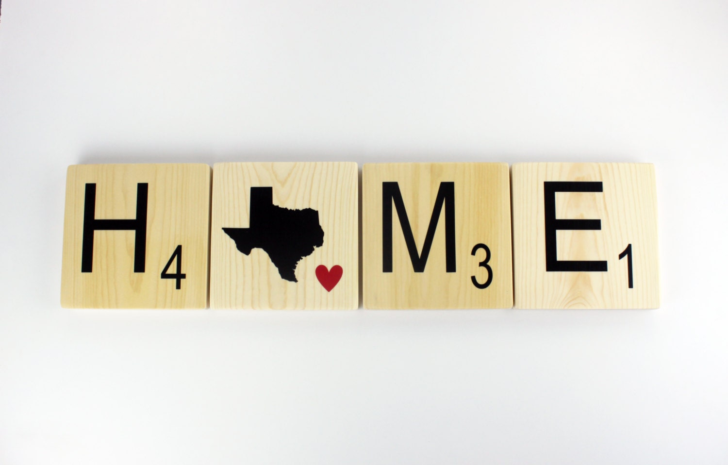 Home State Tiles Scrabble Wall Art Home State Sign Large | Etsy