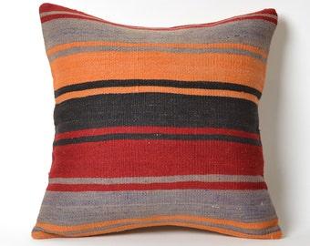 kilim pillows, decorative pillows, handmade pillow, kilim floor cushion, floor cushions, floor kilim pillow, kilim rug pillow, moroccan rug