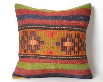 kilim pillow, vintage pillow, turkish pillow, decorative pillow, pillow, throw pillow, cushion cover, pillow cover, bohemian pillow