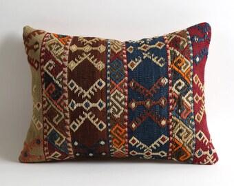 12x16 kilim pillow cover bohemian home decor