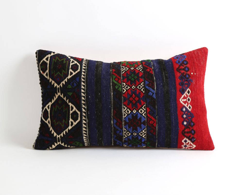 Bohemian Pillow Kilim Pillow Moroccan Pillow Boho Lumbar