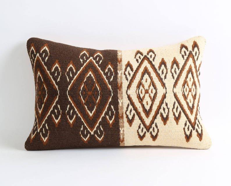 aztec pillow kilim pillow boho pillow toss pillow boho bedroom industrial farm house decor patio chair cushions gypsy decor boho throw