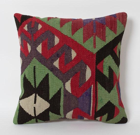 Boho Home Decor Kilim Pillows Cushion Cover Rag Rug