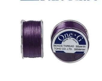 Reel 46 m One - G (Toho) 0.25 mm PURPLE wire