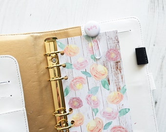 Watercolour Flowers {Personal} Dashboard
