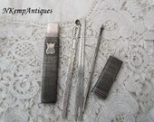Antique silver etui 1790 for the collector