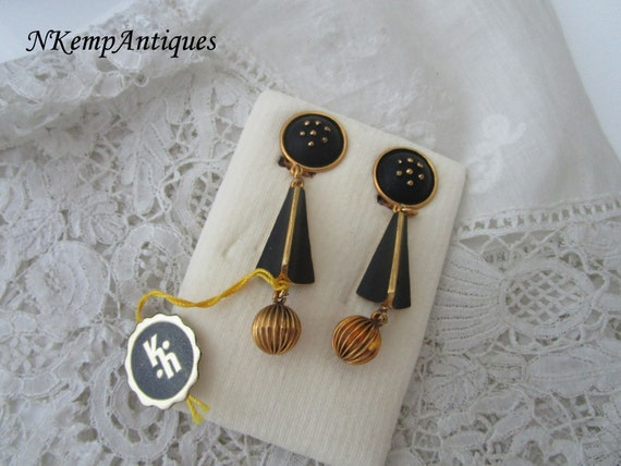 Western Germany earrings for the collector