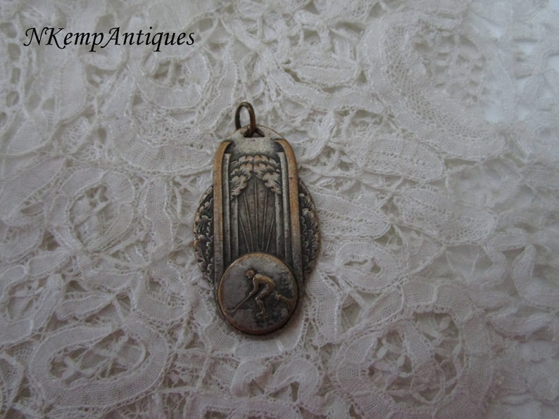 Roller hockey medalpendant for the collector