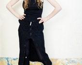 CULICANTE Shawl Scarf Skirt Transformable Garment Handmade CC texture