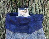 CULICANTE Shawl Poncho Handmade CC texture wool silk linen