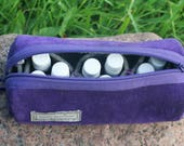"""Culicante Velvet Woolen Essential Oils Bag Case  """"Inspired by Young Living"""""""