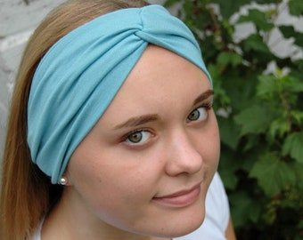 Haarband türkis