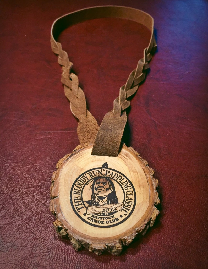 Custom designed Wooden Competition Medals
