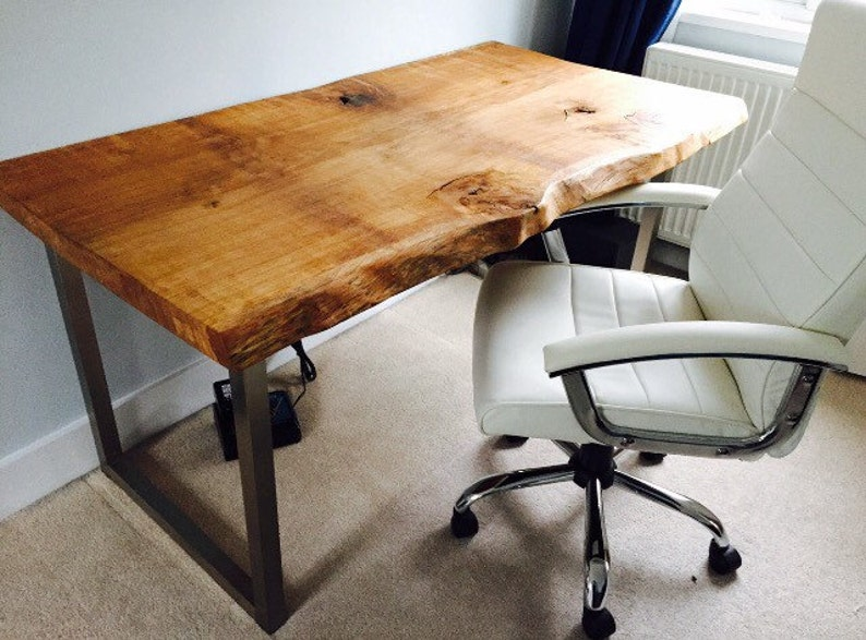 Pleasant Waney Edge Oak Slab Table Tops With Danish Oil Finish Home Interior And Landscaping Ologienasavecom