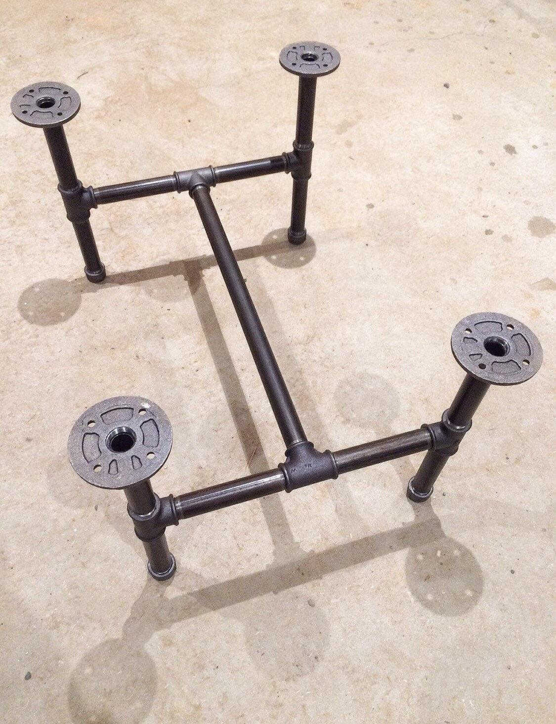 black steel pipe coffee table legs. Black Bedroom Furniture Sets. Home Design Ideas